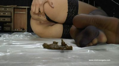 29062 - MISTRESS GAIA - PANTYHOSE THAT TASTE LIKE SHIT