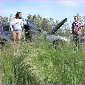 58282 - Car breaks down? Blow job time!
