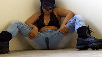 23607 - Goddess Livi's Black Boots, Pissed Jeans 01