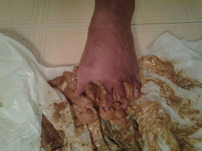 27224 - clean this shit off my feet