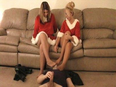 10664 - Santas Girls & Their Stinky Stocking Feet - Part 2