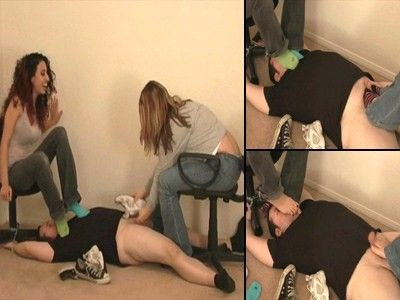 10868 - Humiliated Under Stinky Feet - Part 1