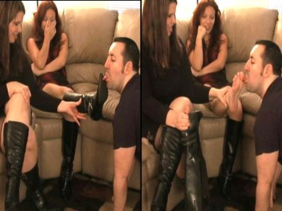 12475 - Sniff My Girlfriends Feet Loser