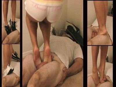 7074 - Tip Toe Testicle Torture - Part 2