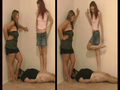 7104 - Kicked By Office Girls - Part 2