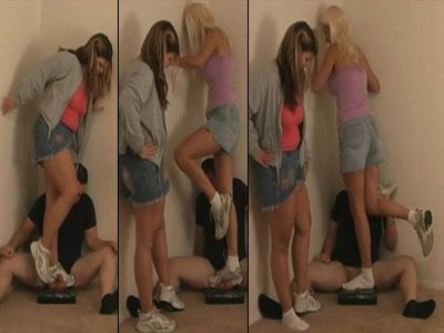 9662 - Goddesses Cock & Ball Crushing Fun - Part 1