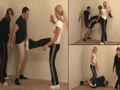 9666 - Goddesses Nut Busting Workout - Part 1