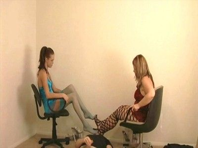 9668 - Jerk Off To Our Stinky Stocking Feet - Part 2