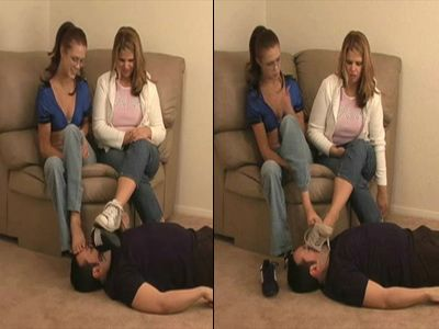 9669 - Ordered To Sniff Their Stinky Sneakers - Part 1