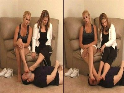 9681 - Teased By Their Sweaty Stinky Feet