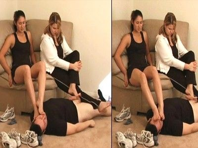 9700 - Goddesses Stinky Workout Feet - Part 2