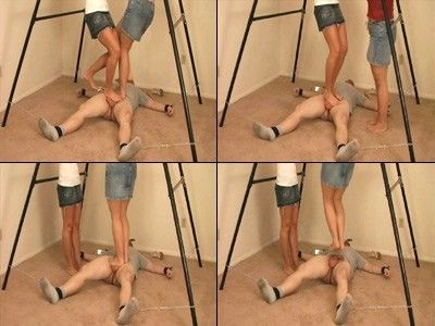 9711 - Shackled & Stomped In The Groin - Part 2