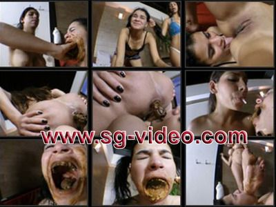 43021 - Scat direct into mouth - Eat my shit and not my bread