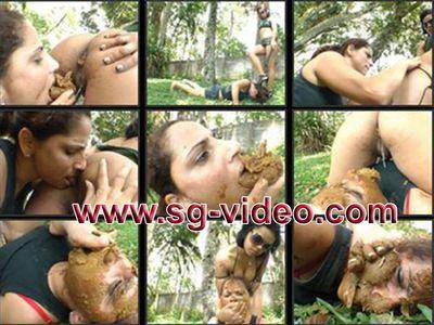 43465 - Lesbian Scat Military Girls - Mistress Natalia Martinez