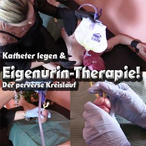 30439 - CATHETER INSERT and own urine therapy