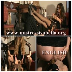 52748 - Mistress Isabella SCAT BIG SURPRISE