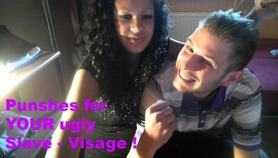 55689 - Punshes for ur slave visage !