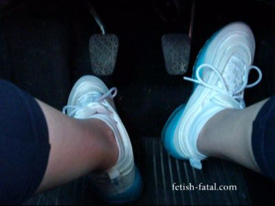 51150 - Driving a Ford Fiesta in keeping fitness trainers and very feminine !!!