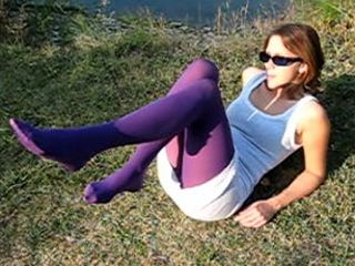 61902 - colored pantyhose
