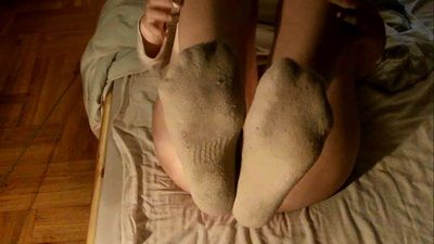 64866 - Crazy feet dirty socks after workout