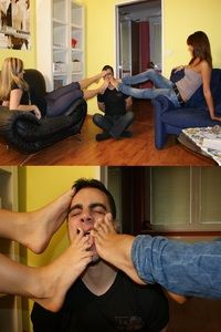 65708 - Sniff and lick our feet