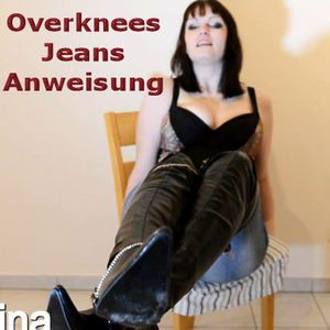 65988 - Jeans and overknees