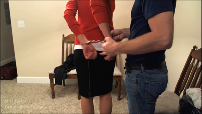 79988 - Secretary Arrested and Shackled