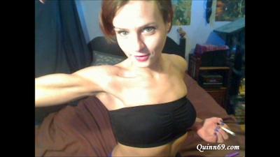 72683 - Biceps Flexing Update as I Smoke