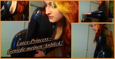 70223 - Latex Princess - Enjoy the sight of me!