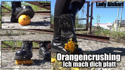 102494 - Orange Crushing – My Jumping Boots Will Crush You