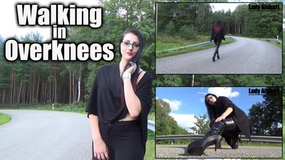 103336 - Walking in Overknees