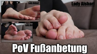 104593 - POV Foot Worship