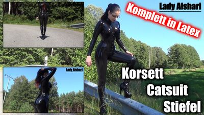 104612 - Corset, Catsuit, and Boots