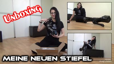 89273 - Unboxing My New Boots
