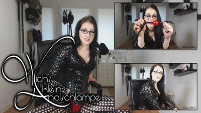 89705 - Wank, little analslut!