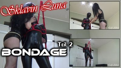 89706 - Slave Girl Luna Bondage Part 2
