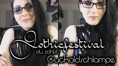 90053 - Gothic Festival ? And You Pay, Cuckold-Slut!