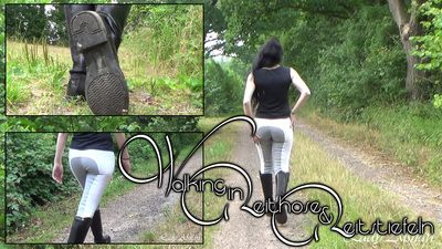 90892 - Walking in Jodhpurs and Riding Boots