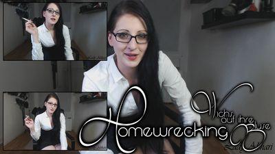 90913 - Jerk on her blouse - Homewrecking