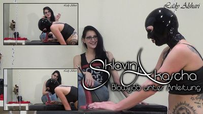 91922 - Slave Girl Akascha - Blowjobinstruction