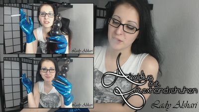 94006 - Analplug And Latexgloves