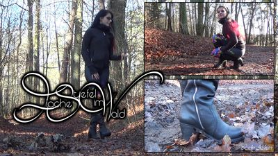 94009 - Flat Boots In The Forest