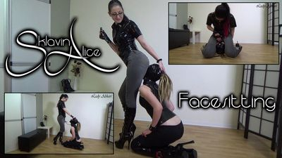 94010 - Slave Girl Alice - Face Sitting