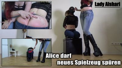 94887 - Alice May Sense A New Toy