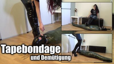 96058 - Tapebondage and Humiliation