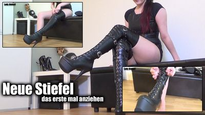 97847 - New Boots - Put on first time