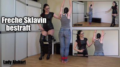 97849 - Punished my naughty slavegirl