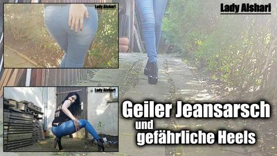 98135 - Hot Jeansbutt and dangerous High Heels