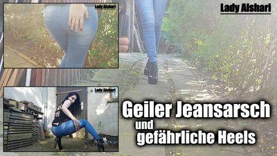 98135 - Hot Jeansbutt and dangerous High Heels