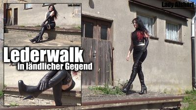 99587 - Leatherwalk in rural area